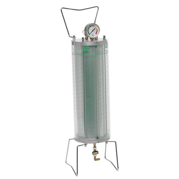 2,0 kg Füllzylinder für R134a, R404a und R407c