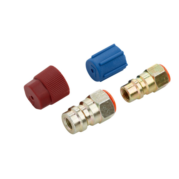 Retrofit high- to low-pressure adapter