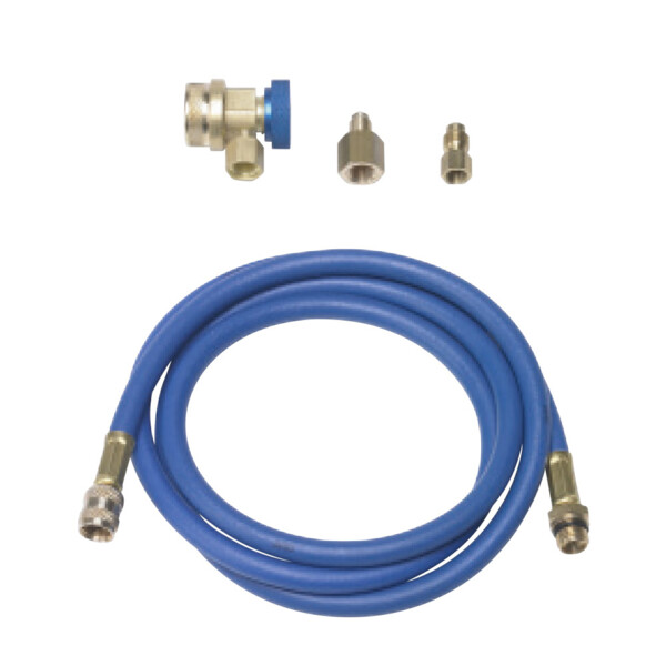 Hose set for nitrogen pressure reducer