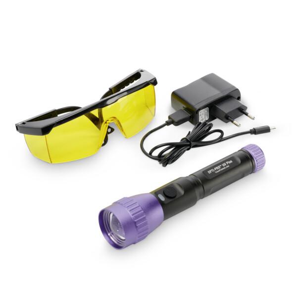 UV-Lecksuchlampe OPTI-PRO™ UV mit LED-Violett-Licht